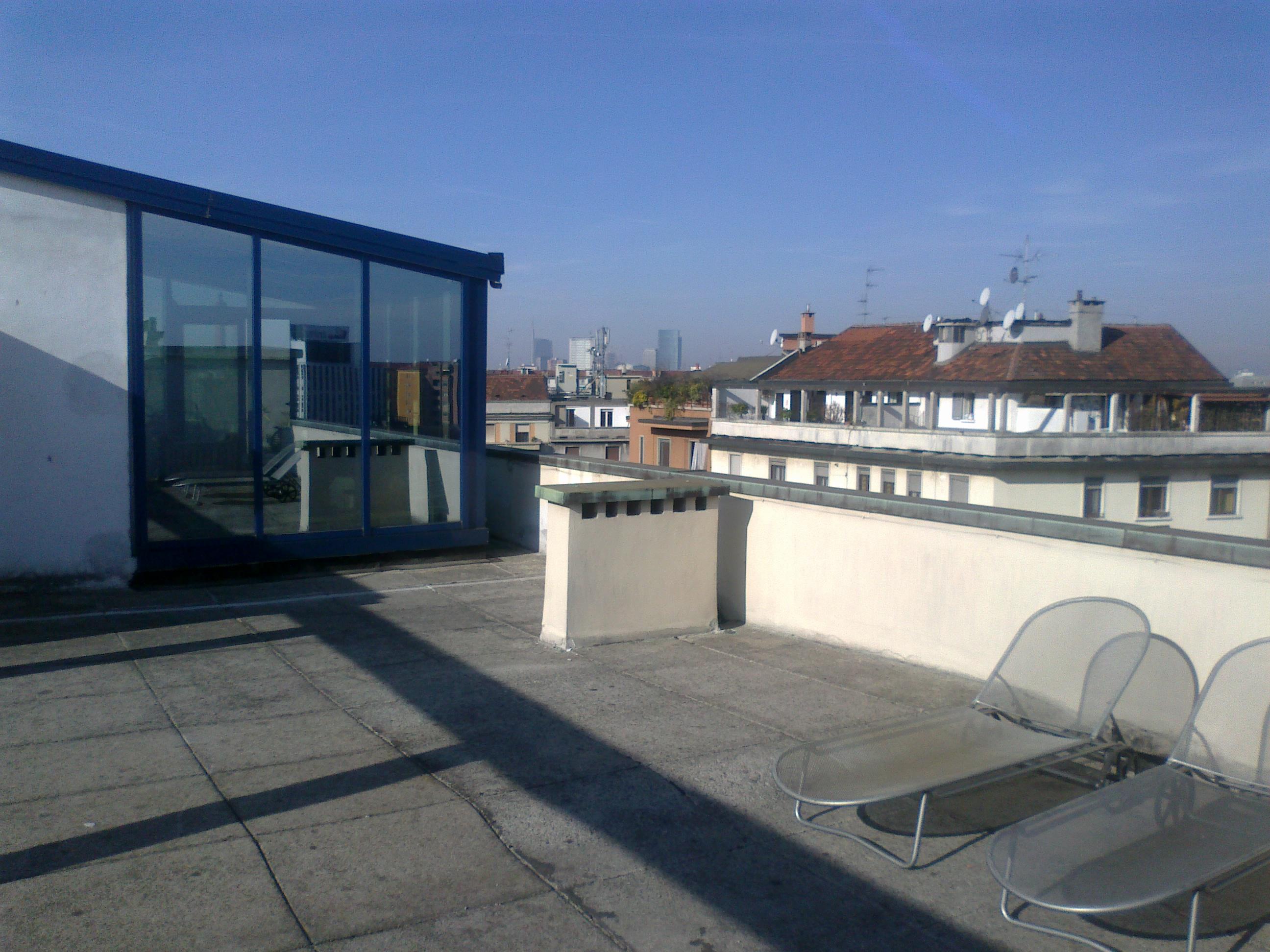 affittasi location attico a milano con terrazzo panoramico - miragu - Terrazzo Milano