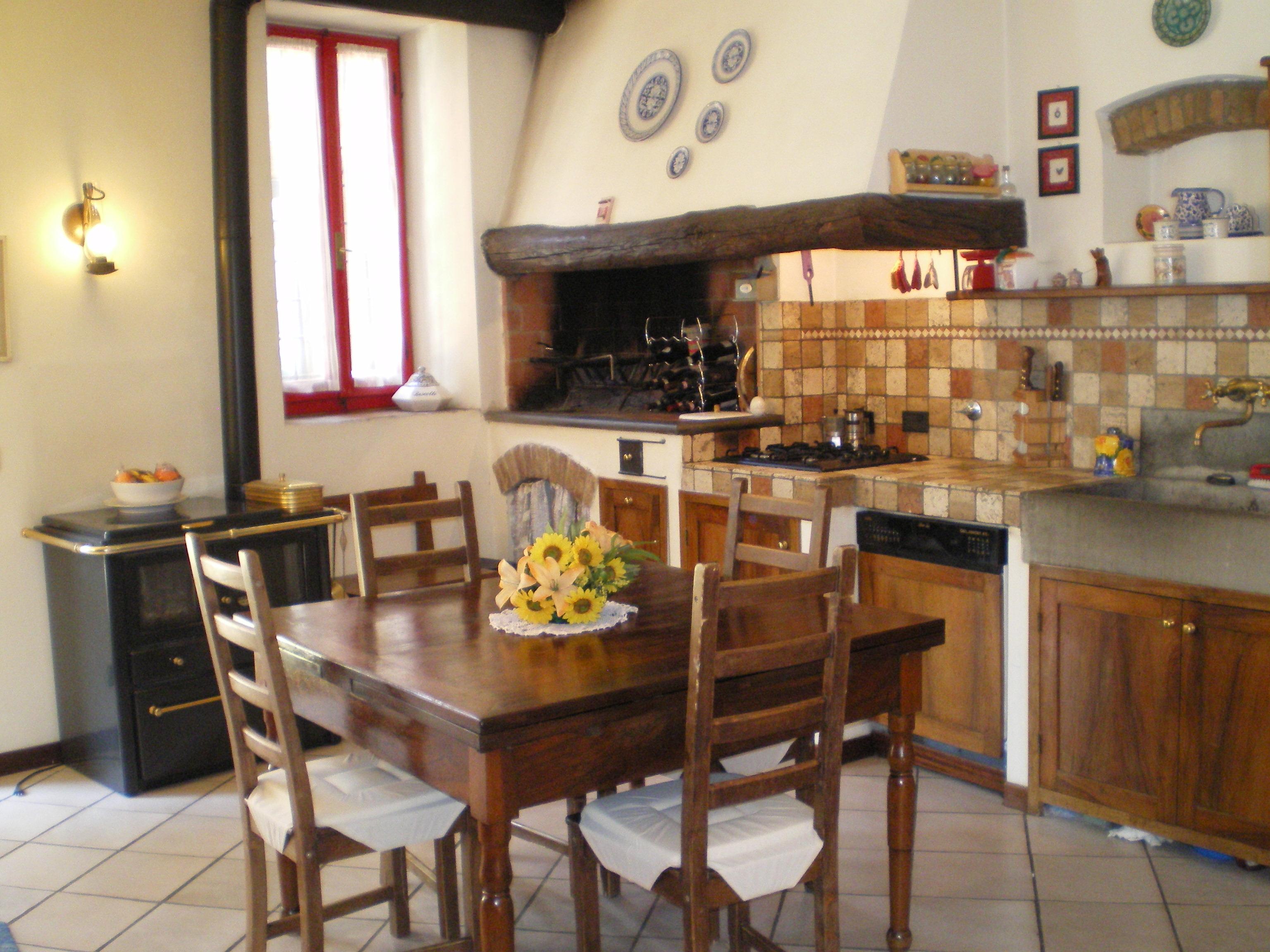 Pitture per cucine rustiche finest pittura per piastrelle - Cucine rustiche toscana ...