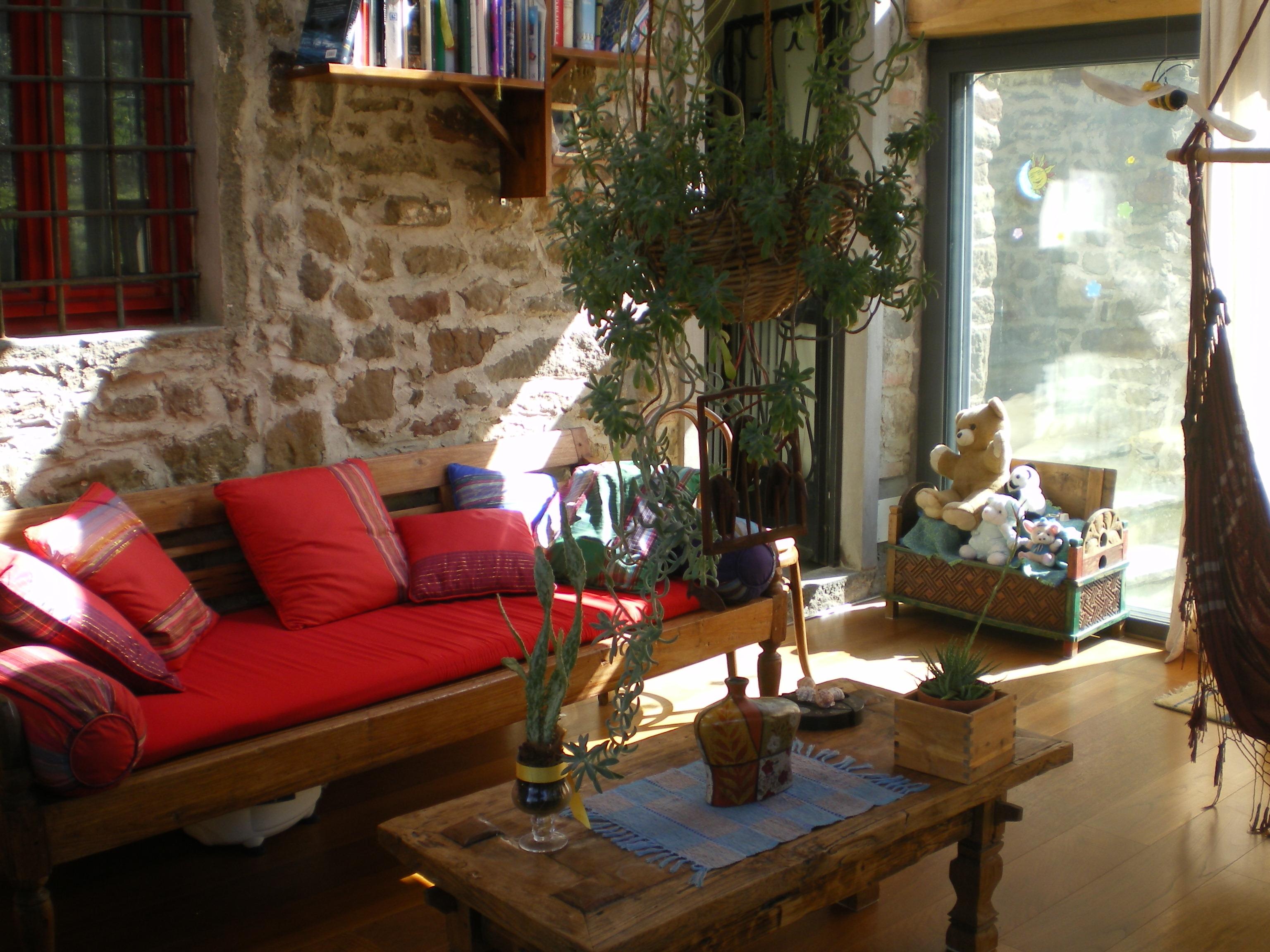 Affittasi location colonica toscana san polo in chianti for Verande arredate