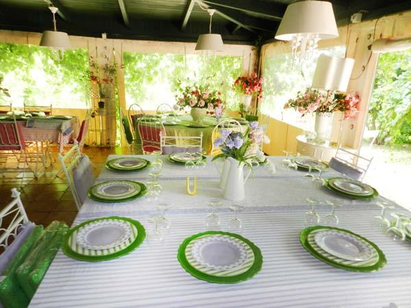 Affittasi location villetta con giardino fiorito in zona for Giardini arredati