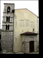 the places of the municipality of Capranica Prenestina and Guadagnolo